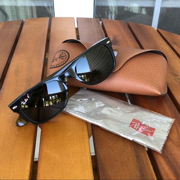 6b9b6e913922e NEW Custom Ray-Ban New Wayfarer Sunglasses. M 5ac6355ffcdc31bcf2851f14